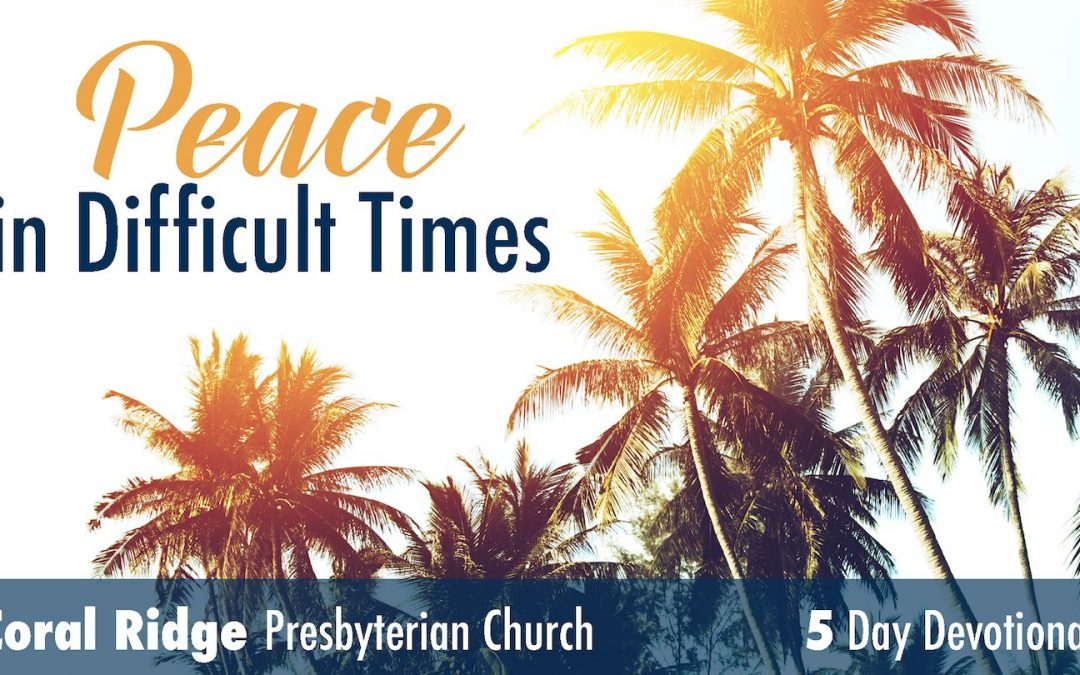 Peace in Difficult Times